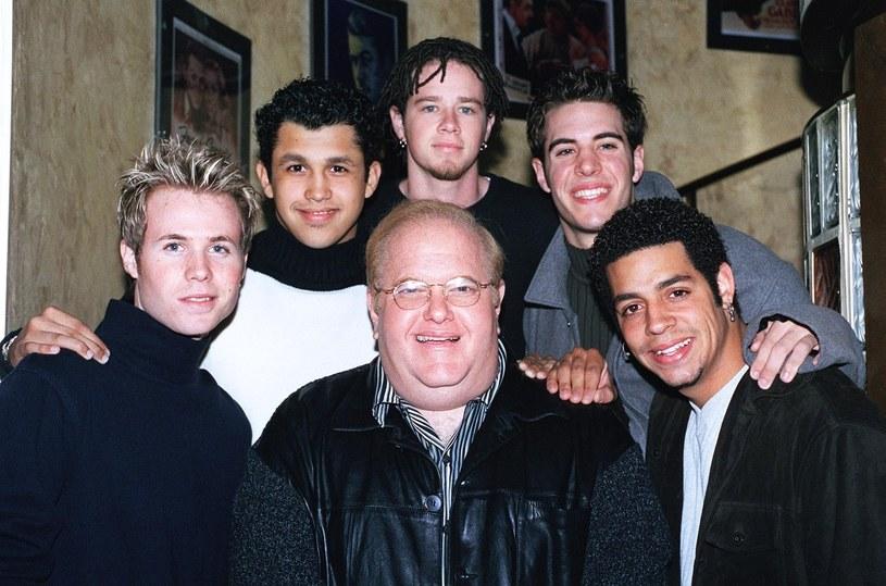 Lou Pearlman z członkami zespołu O-Town /Photoshot    /Reporter
