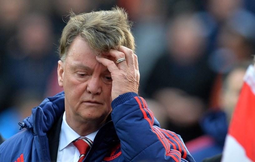 Louis van Gaal, menedżer Manchesteru United /AFP