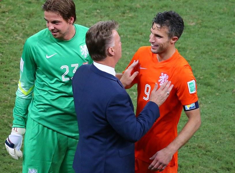 Louis van Gaal zagrał va banque w meczu z Kostaryką /PAP/EPA