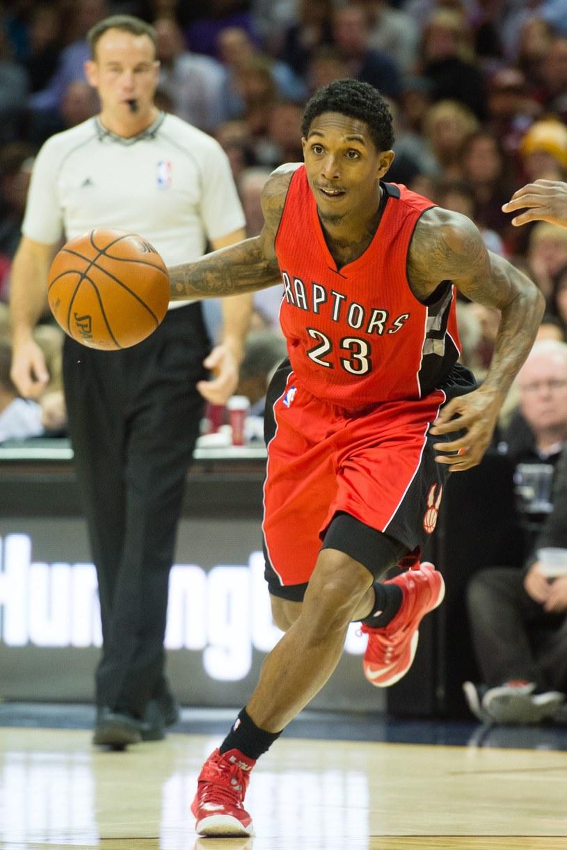 Louis Williams zdobył aż 36 punktów dla Toronto Raptors /AFP