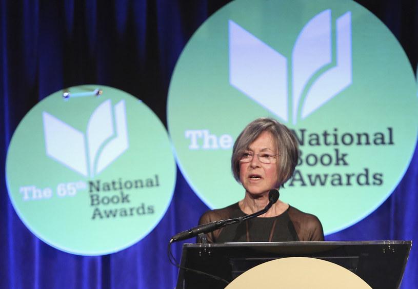 Louise Glück; zdjęcie archiwalne z 2014 roku /AFP