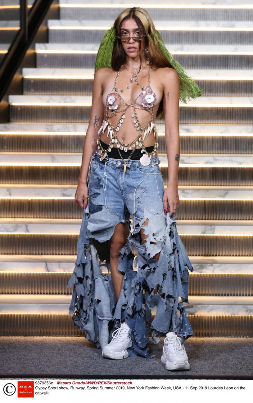 Lourdes Leon /Masato Onoda/WWD/REX/Shutterstock/Rex Fashion /East News
