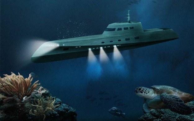 Lovers Deep - łódź podwodna dla zakochanych /materiały prasowe