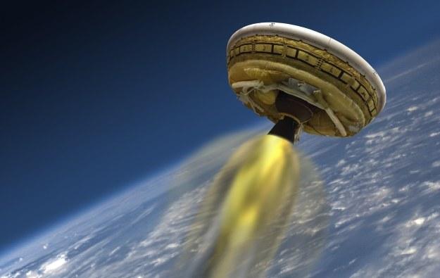 Low-Density Supersonic Decelerator będzie spowalniany przez Supersonic Ringsail Parachute /NASA