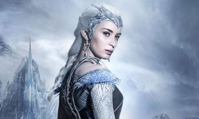 """""""Łowca i Królowa Lodu"""" - jeden z filmów, jaki zadebiutuje na nośniku Ultra HD Blu-ray /materiały prasowe"""