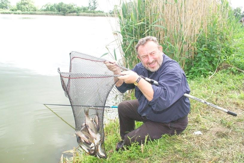 Łowienie ryb to jego pasja /- /AKPA