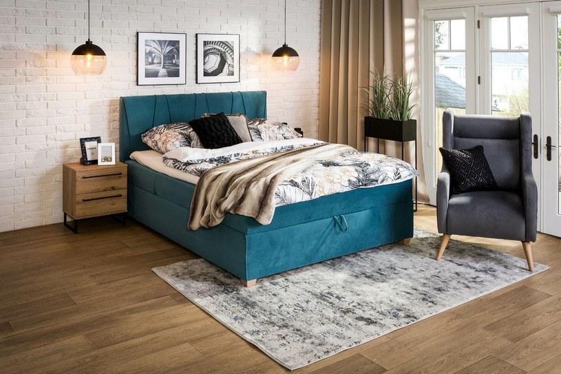 Łóżko to najważniejszy mebel w każdej sypialni — domowej i hotelowej /materiały promocyjne