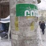 Lubelska straż miejska wypowiada walkę ogłoszeniom, które szpecą miasto