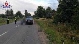Lubelskie: 76-letni rowerzysta zginął potrącony przez kierowcę bmw