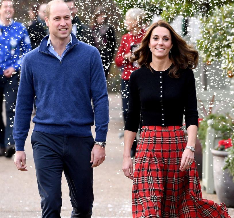Lubiana przez żonę księcia Williama krata w tym roku będzie mocnym trendem! /Doug Peters/Press Association/ /East News