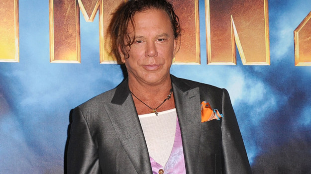 Lubię znowu pracować - przyznaje Mickey Rourke / fot. Jason Merritt /Getty Images/Flash Press Media