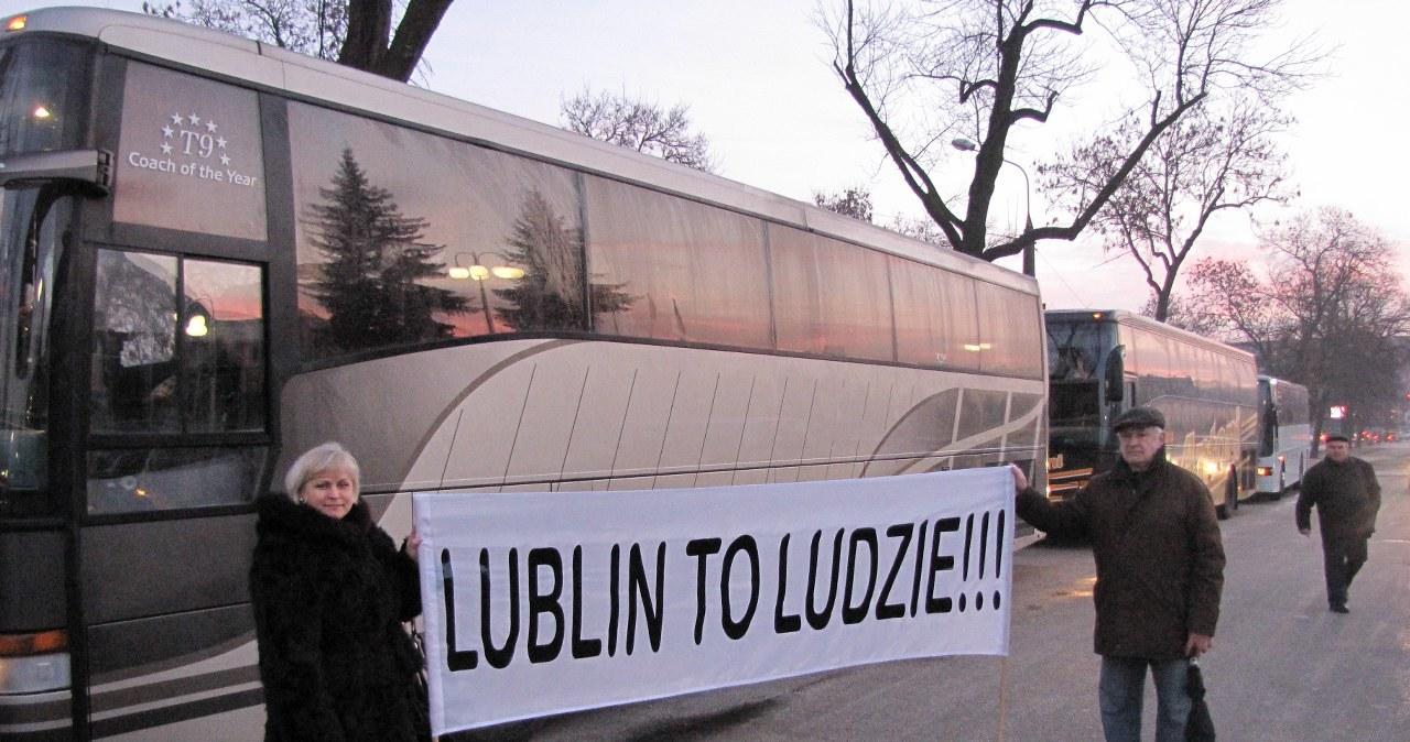 Lublin jedzie do Warszawy protestować w obronie drogi