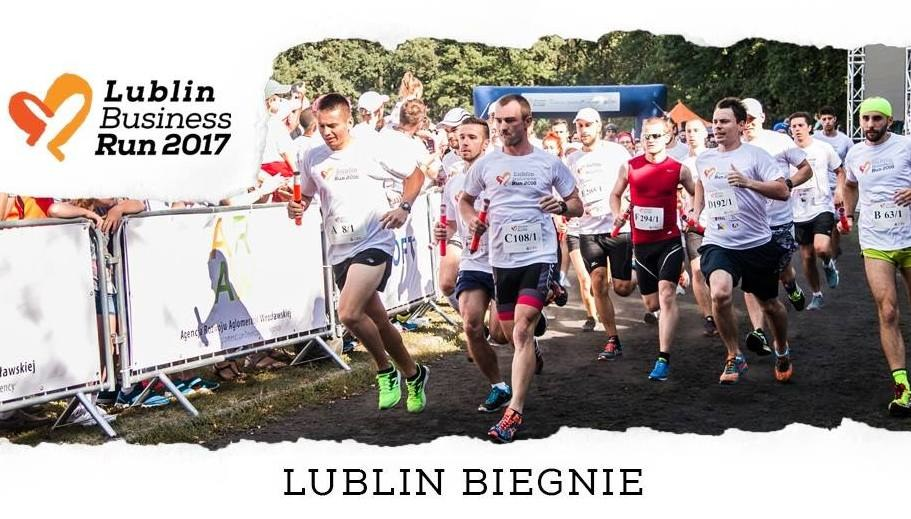 Lublin jest ósmym miastem, które dołączyło do akcji Poland Business Run /Lublin Business Run /Materiały prasowe