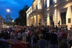 Lublin: Kolejny dzień protestów przeciwko zmianom w sądownictwie