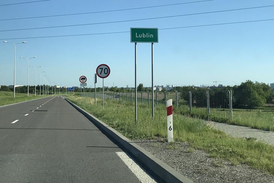 Lublin: Zmieniono absurdalne oznakowanie /Krzysztof Kot /RMF FM