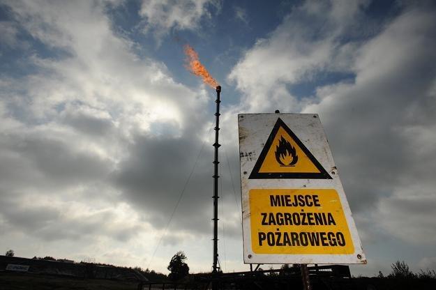 Lubocino - odwiert gazu z łupków firmy PGNiG. Fot. Wojciech Stróżyk /Reporter