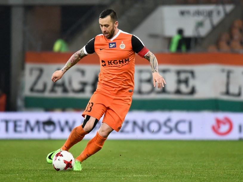 Lubomir Guldan (Zagłębie Lubin) /Piotr Dziurman /East News