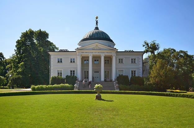Lubostroń, palac rodu Skórzewskich.  Fot. Dejan Gospodarek /Reporter