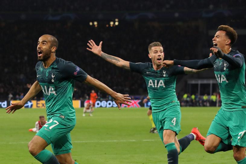 Lucas Moura poprowadził Tottenham do zwycięstwa z Ajaksem i do awansu do finału Ligi Mistrzów /Getty Images