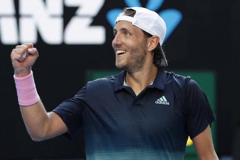 Lucas Pouille triumfuje /AFP