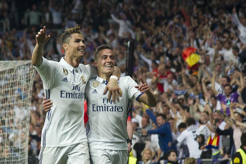 Lucas Vazquez i CR7 podczas półfinału Ligi Mistrzów z Atletico Madryt /AFP