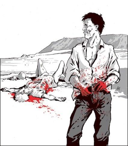 Lucas zamordował Becky z zimną krwią. Znajomym powiedział, że dziewczyna go opuściła /Andrzej Fonfara /Śledztwo