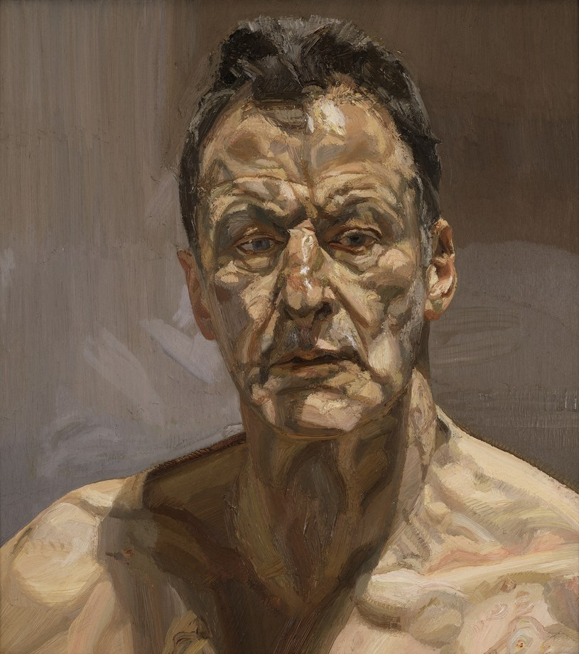Lucian Freud, Reflection (Self-Portrait), 1985. fot. Private collection, England /materiały prasowe