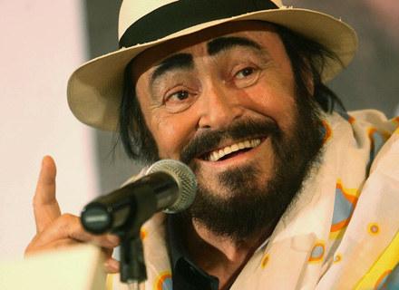 Luciano Pavarotti nie poddaje się chorobie - fot. China Photos /Getty Images/Flash Press Media