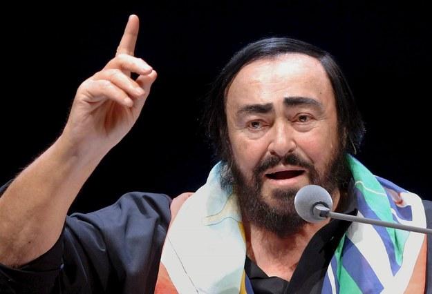 Luciano Pavarotti /BERND WEISSBROD /PAP/EPA