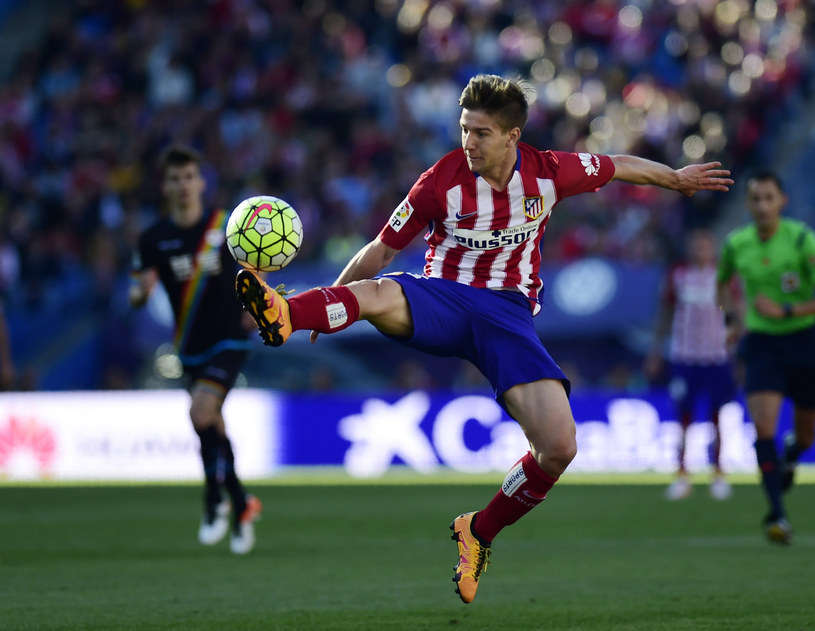 Luciano Vietto w barwach Atletico Madryt /AFP