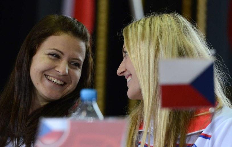 Lucie Szafarzova i Petra Kvitova /AFP