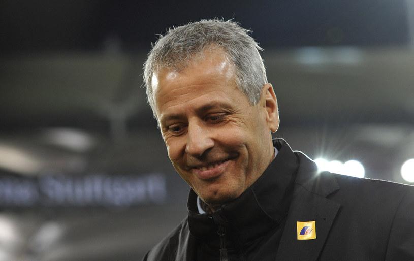 Lucien Favre, trener Borussii Moenchengladbach /AFP