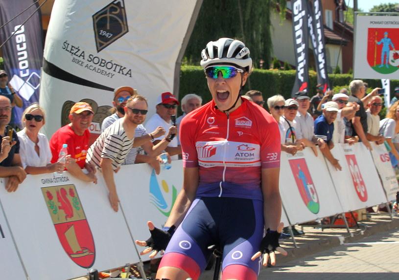 Łucja Pietrzak zwyciężyła w wyścigu elity / PAP/Tomasz Waszczuk /PAP