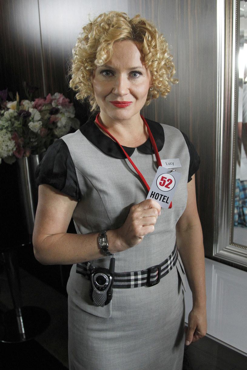 """Lucyna Malec w serialu """"Hotel 52"""" /AKPA"""