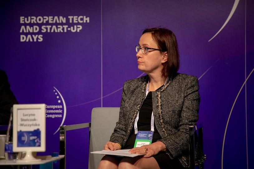 Lucyna Stańczak-Wuczyńska, przewodnicząca Rady Nadzorczej Banku BNP Paribas. /Fot. Ireneusz Rek /INTERIA.PL