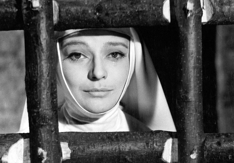 """Lucyna Winnicka w filmie """"Matka Joanna od Aniołów"""" (1960) /East News"""