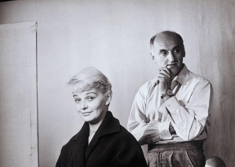 Lucyna Winnicka z mężem Jerzym Kawalerowiczem /Bauer /AKPA