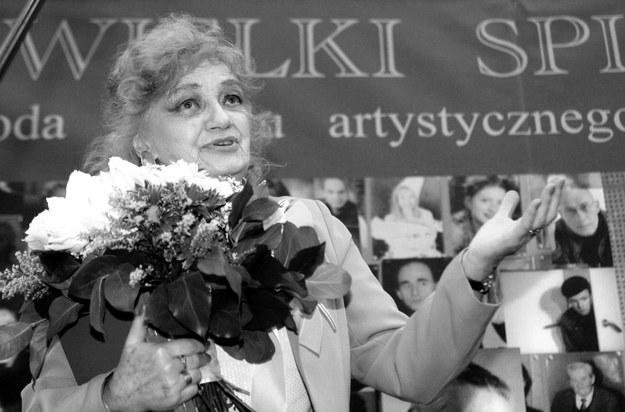 Ludmiła Łączyńska / Tomasz Gzell    /PAP