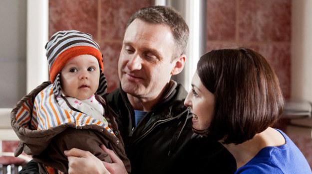 Ludmiła nie spodziewała się, że o romansie Kostka dowie się od jego byłej żony. /www.barwyszczescia.tvp.pl/