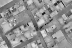 Ludność opuszcza wschodnią część Aleppo. Zdjęcia zrobione przez rosyjskie drony