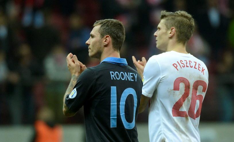 Ludovic Obraniak i Łukasz Piszczek dziękują kibicom za doping /PAP