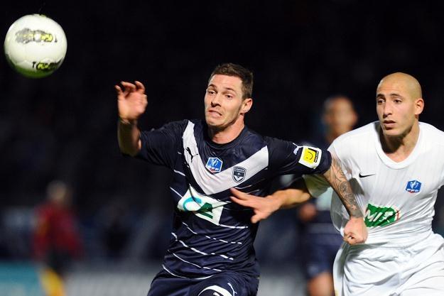 Ludovic Obraniak strzelił gola dla Bordeaux /AFP