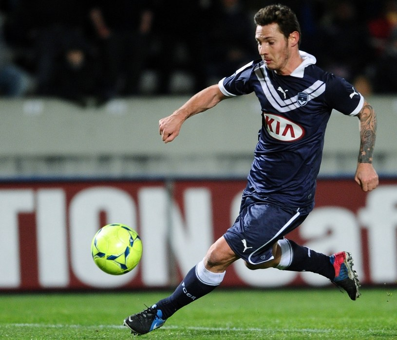 Ludovic Obraniak zdobył bramkę dla Girondins Bordeaux /AFP