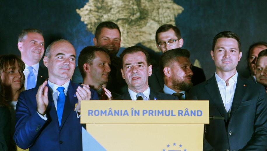 Ludovic Orban, szef PNL /BOGDAN CRISTEL /PAP/EPA