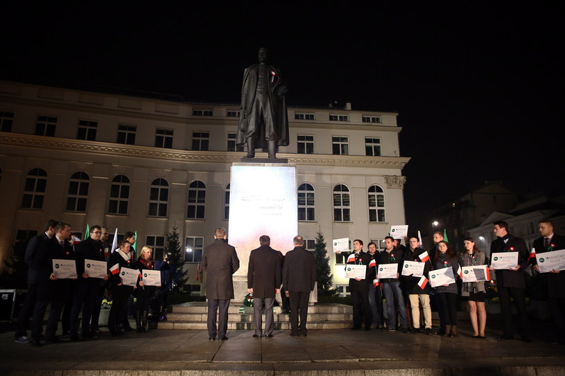 Ludowcy uczcili pamięć Wincentego Witosa /Tomasz Gzell /PAP
