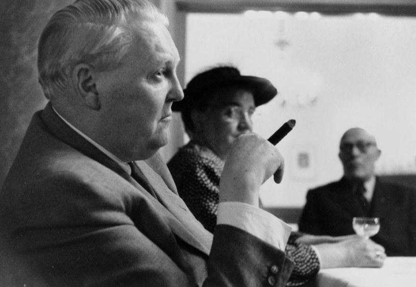 Ludwig Erhard (na pierwszym planie) /akg-images / Erich Lessing /East News