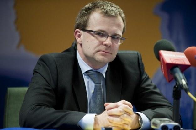 Ludwik Kotecki, wiceminister finansów. Fot. Wiktor Dąbkowski /Reporter