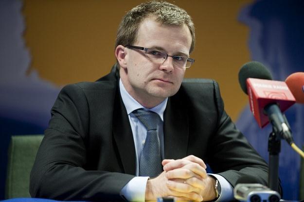 Ludwik Kotecki, wiceminister finansów, fot. Wiktor Dąbkowski /Reporter