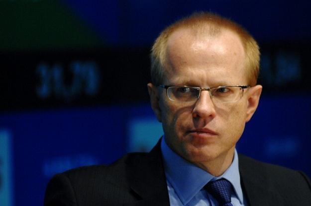 Ludwik Sobolewski, zawieszony prezes GPW w Warszawie, fot. Piotr Gamdzyk /Reporter