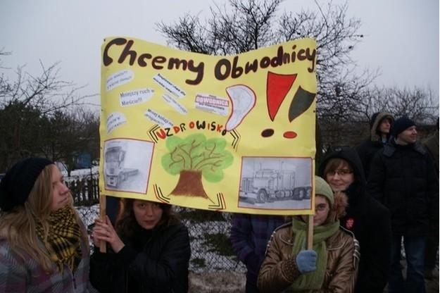 Ludzie chcą obwodnic / Fot: UM Inowrocławia /